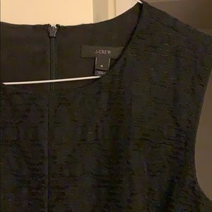 Sleeveless J Crew laser cut dress